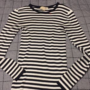 Michael Kors Ribbed fitted sweater Sz XS EUC